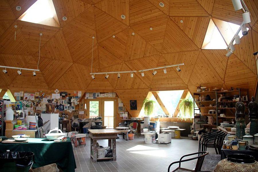 adelaparvu.com despre case tip dom, domuri geodezice, Foto NaturalSpacesDomes (3)