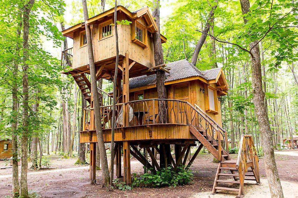 adelaparvu.com despre casute in copaci si parc de aventura Balotesti, Edenland Park, Romania (10)