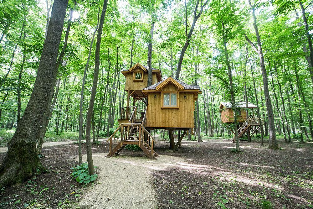 adelaparvu.com despre casute in copaci si parc de aventura Balotesti, Edenland Park, Romania (11)