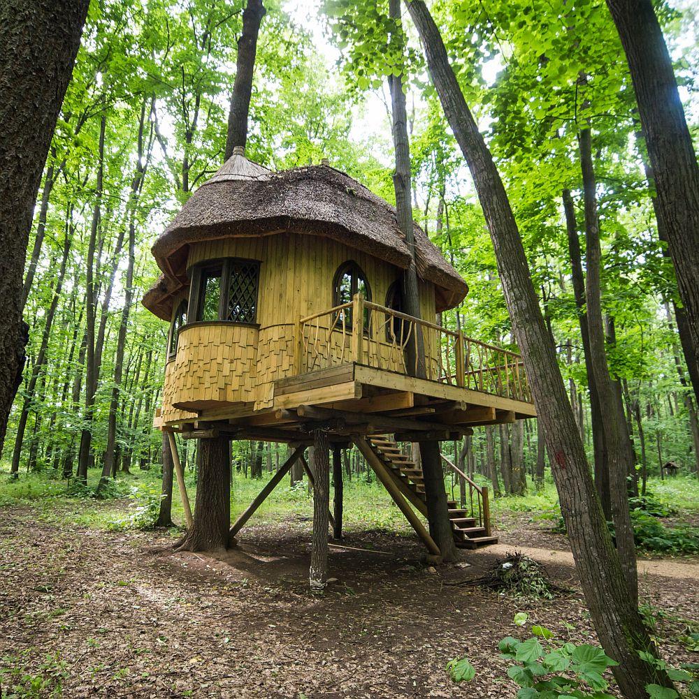 adelaparvu.com despre casute in copaci si parc de aventura Balotesti, Edenland Park, Romania (13)