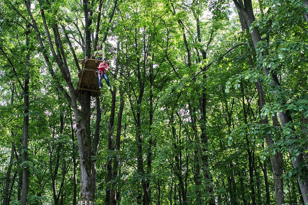 adelaparvu.com despre casute in copaci si parc de aventura Balotesti, Edenland Park, Romania (14)