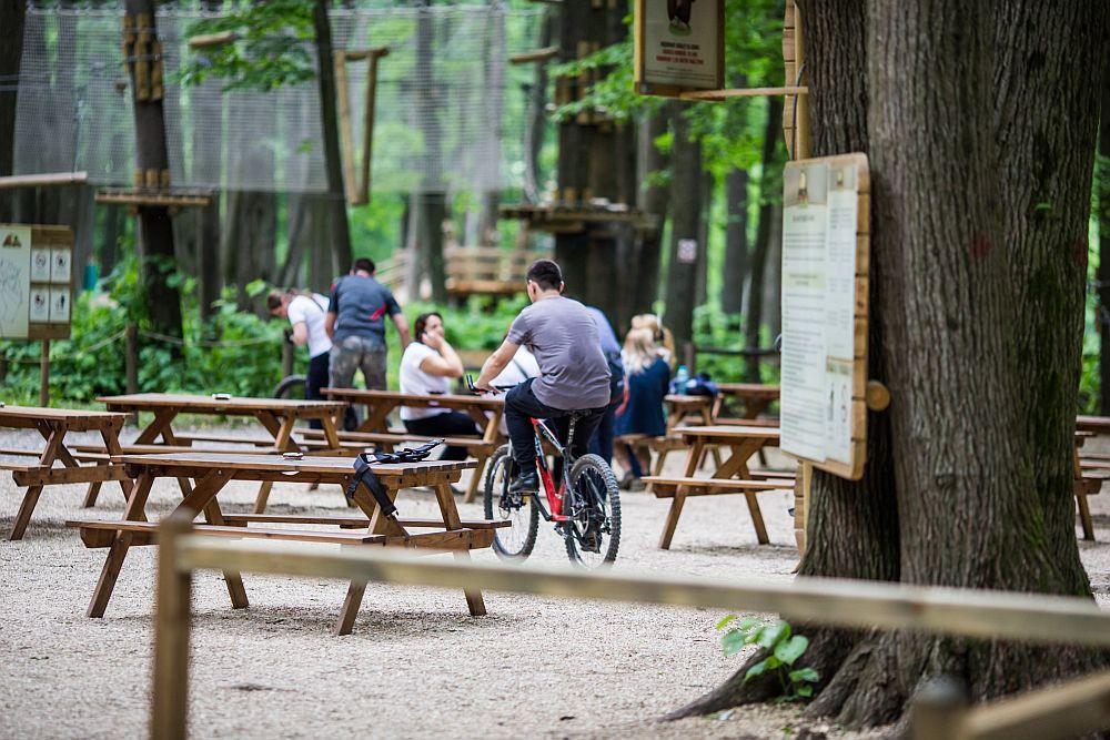 adelaparvu.com despre casute in copaci si parc de aventura Balotesti, Edenland Park, Romania (15)