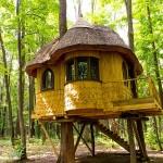 adelaparvu.com despre casute in copaci si parc de aventura Balotesti, Edenland Park, Romania (2)