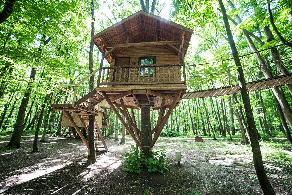 adelaparvu.com despre casute in copaci si parc de aventura Balotesti, Edenland Park, Romania (3)