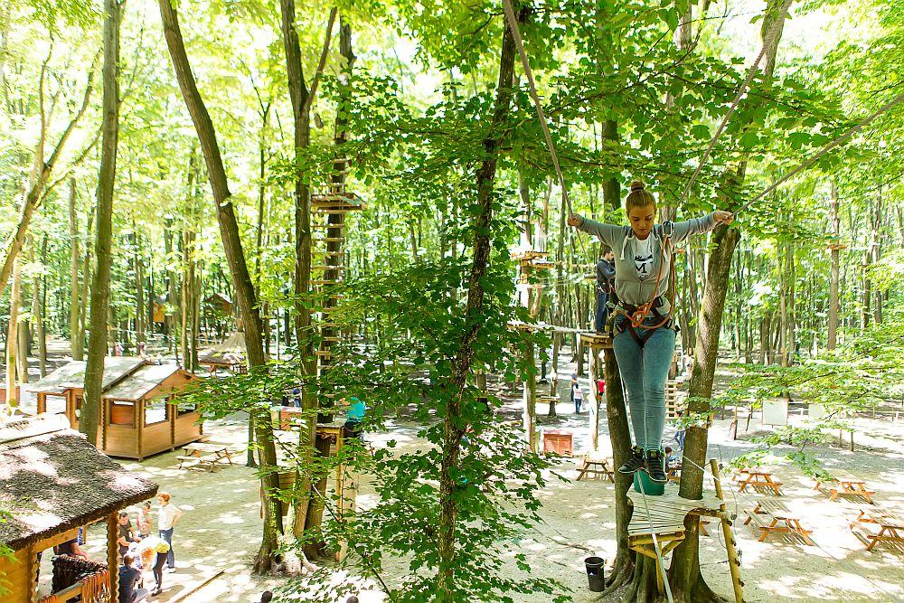 adelaparvu.com despre casute in copaci si parc de aventura Balotesti, Edenland Park, Romania (32)