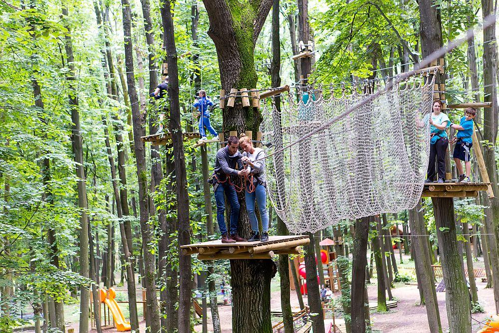 adelaparvu.com despre casute in copaci si parc de aventura Balotesti, Edenland Park, Romania (33)