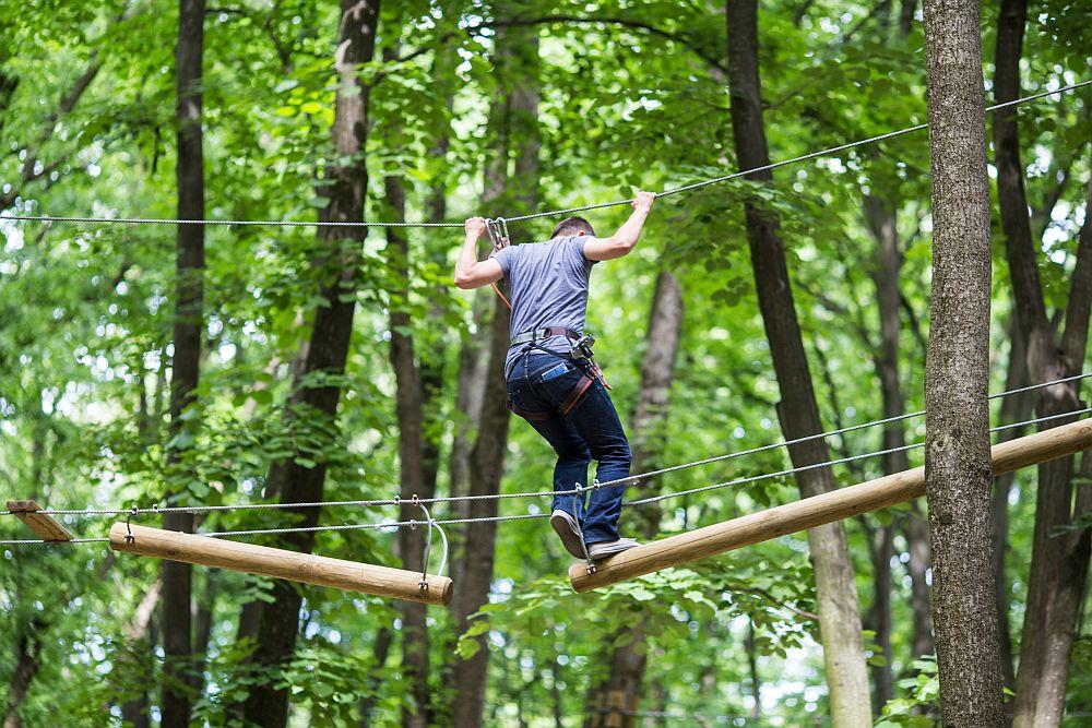 adelaparvu.com despre casute in copaci si parc de aventura Balotesti, Edenland Park, Romania (35)