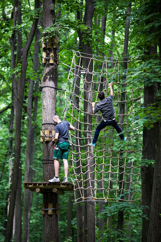 adelaparvu.com despre casute in copaci si parc de aventura Balotesti, Edenland Park, Romania (36)