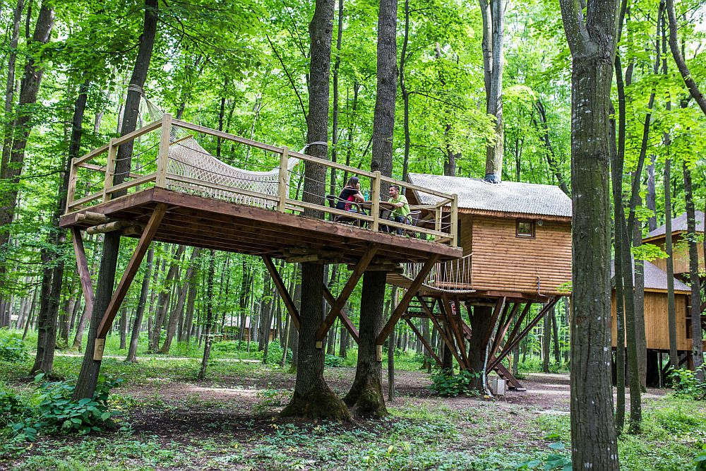 adelaparvu.com despre casute in copaci si parc de aventura Balotesti, Edenland Park, Romania (4)