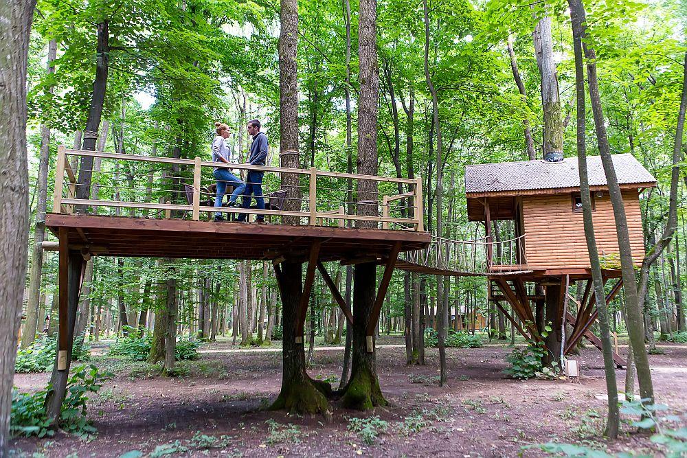 adelaparvu.com despre casute in copaci si parc de aventura Balotesti, Edenland Park, Romania (5)