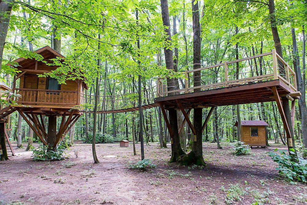 adelaparvu.com despre casute in copaci si parc de aventura Balotesti, Edenland Park, Romania (6)