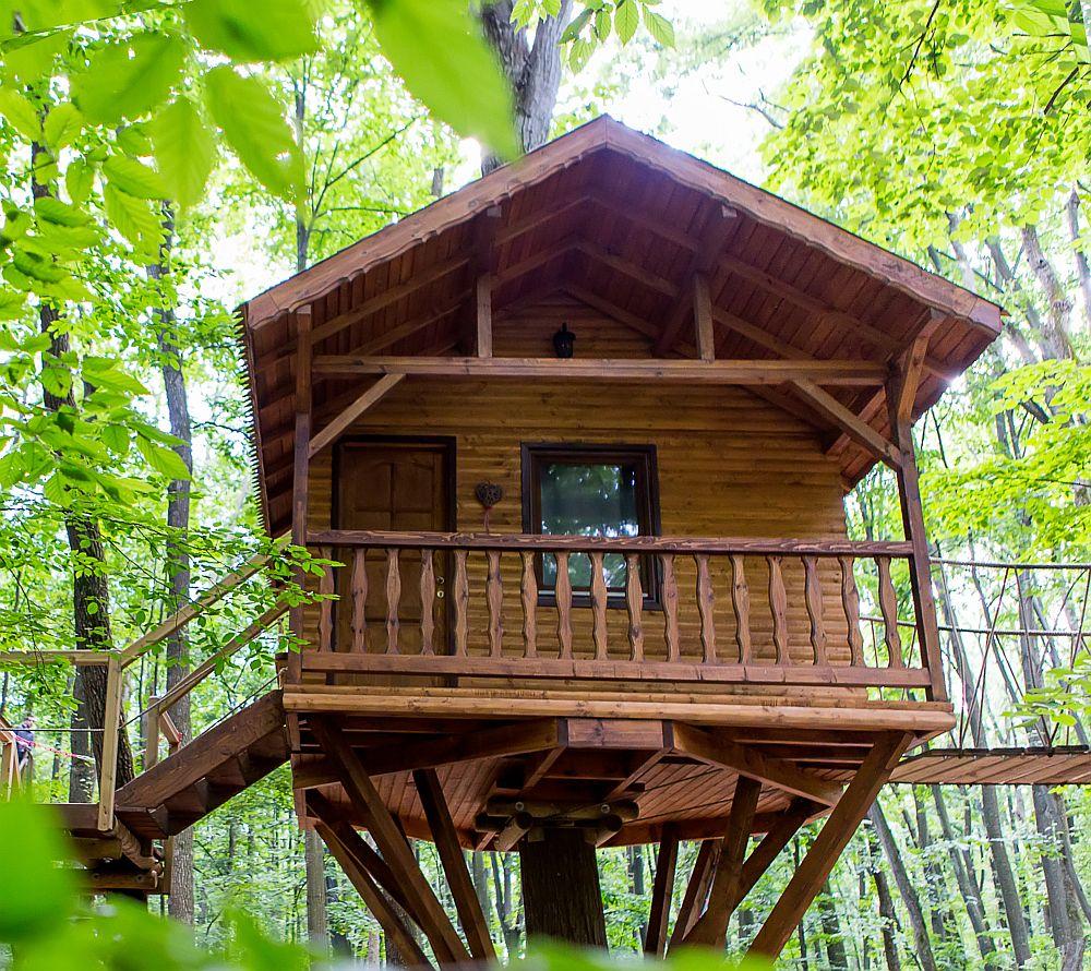 adelaparvu.com despre casute in copaci si parc de aventura Balotesti, Edenland Park, Romania (7)