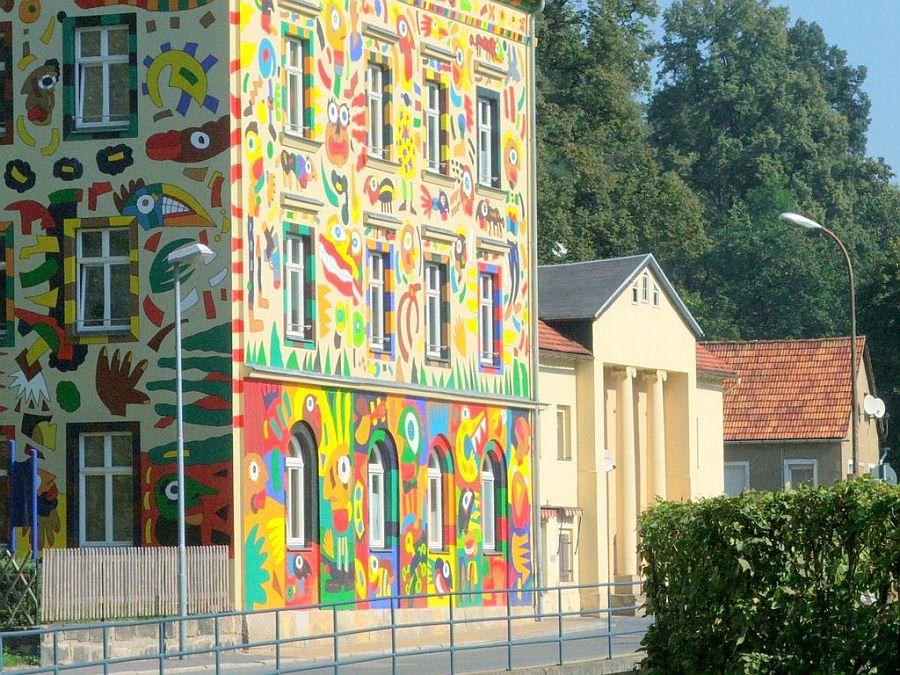 adelaparvu.com despre cladiri pictate, artist Michael Fischer Art (10)