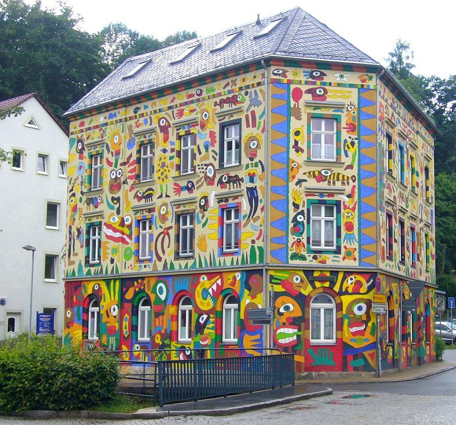 adelaparvu.com despre cladiri pictate, artist Michael Fischer Art (13)