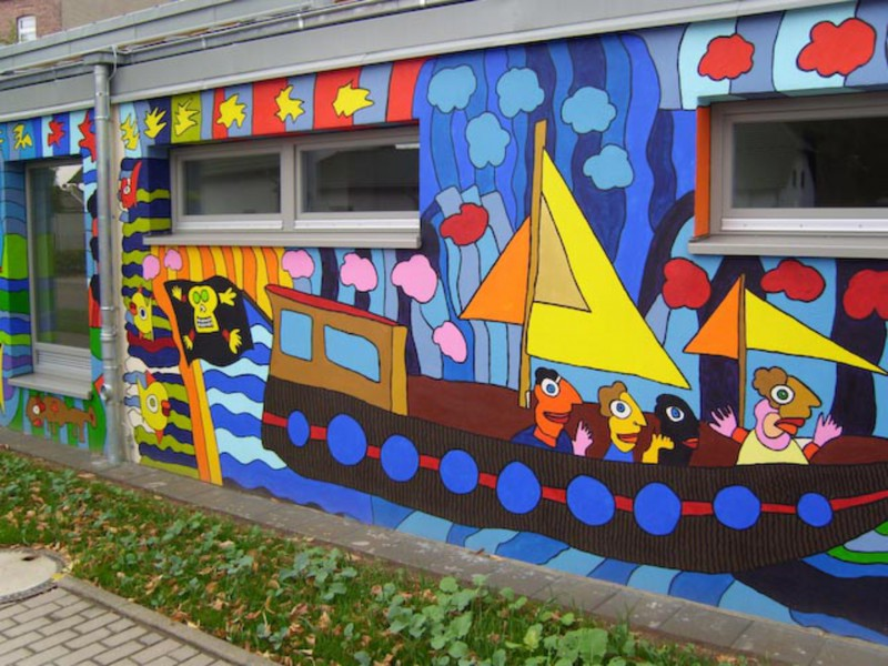 adelaparvu.com despre cladiri pictate, artist Michael Fischer Art (23)