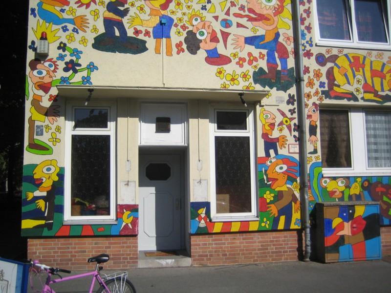 adelaparvu.com despre cladiri pictate, artist Michael Fischer Art (32)