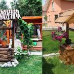 adelaparvu.com despre fantani decorative din lemn, masti pentru fantani, design Rustic Design, oradea (14)