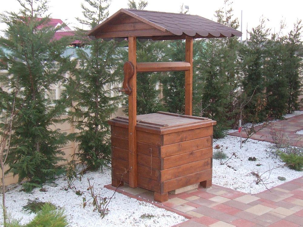 adelaparvu.com despre fantani decorative din lemn, masti pentru fantani, design Rustic Design, oradea (7)