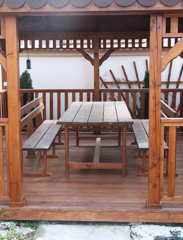 adelaparvu.com despre foisoare lemn, foisor dreptunghiular, firma Rustic Design, Romania (13)