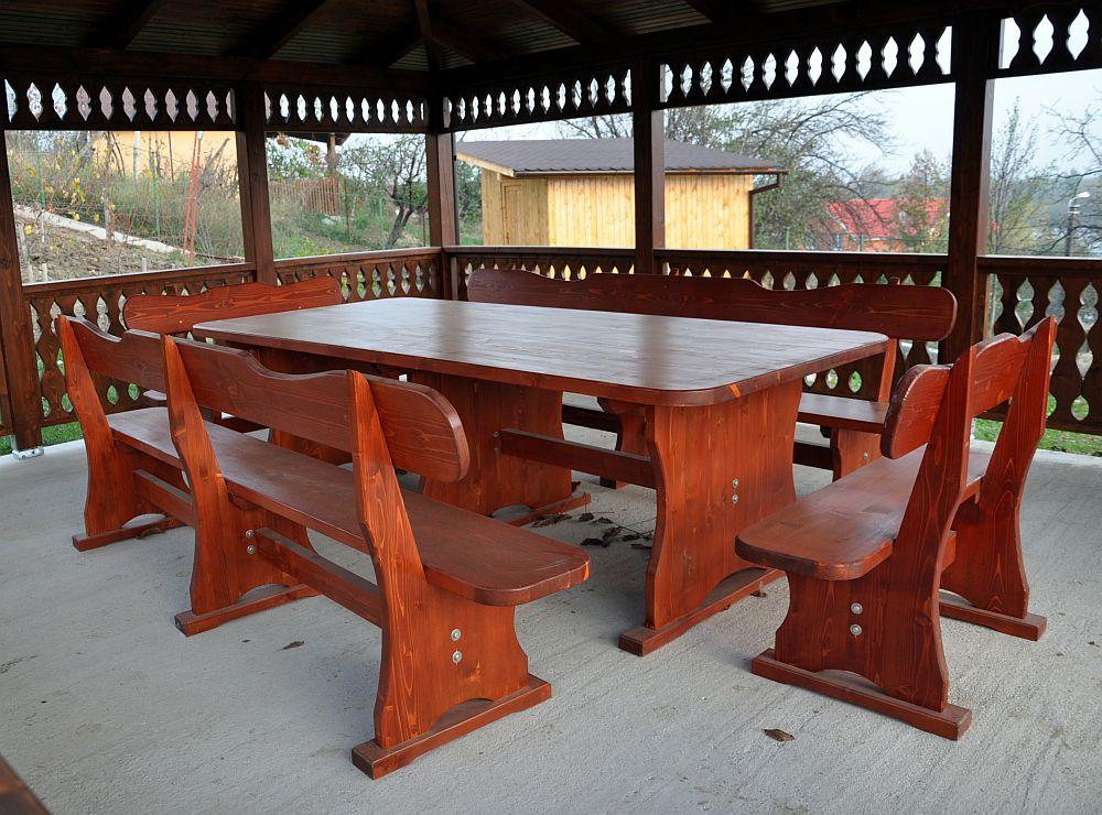 adelaparvu.com despre foisoare lemn, foisor dreptunghiular, firma Rustic Design, Romania (8)