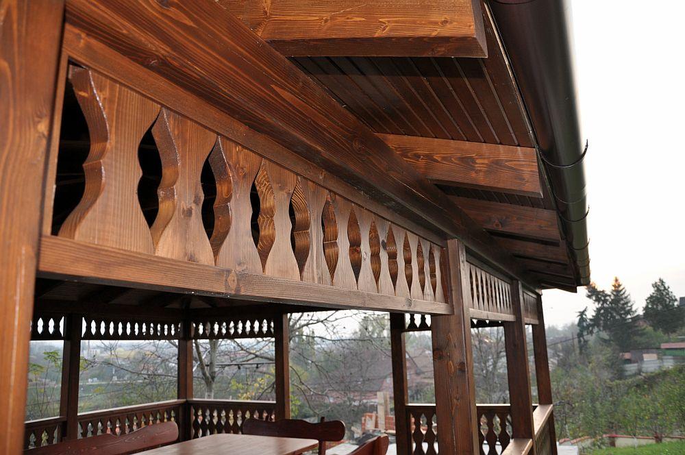 adelaparvu.com despre foisoare lemn, foisor dreptunghiular, firma Rustic Design, Romania (9)