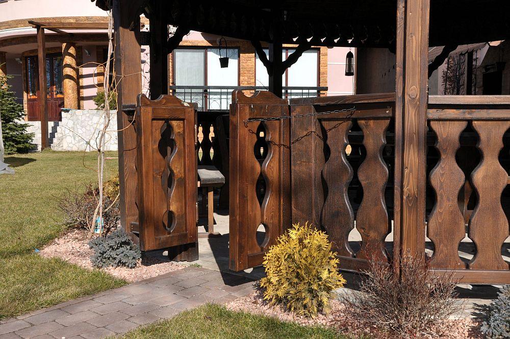adelaparvu.com despre foisoare lemn rustice, foisoare din lemn, foisor octogonal, design Rustic Design, Romania (3)