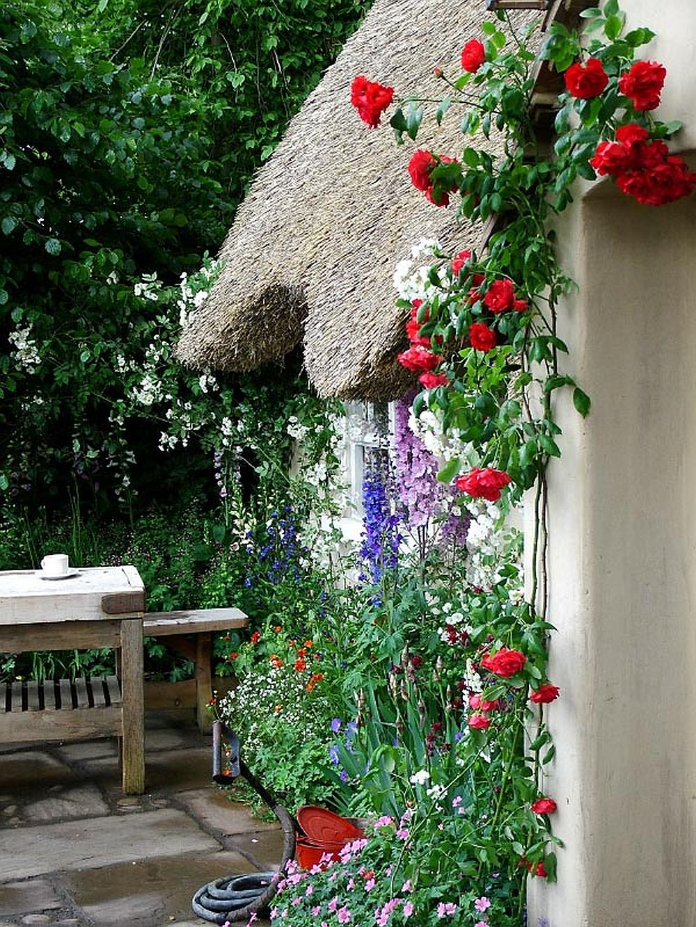adelaparvu.com despre gradina rustica englezeasca, gradina Anglia, gradina Chelsea Pensioners Garden, designer peisagist Julian Dowle, Foto blog MooseysCountryGarden (4)