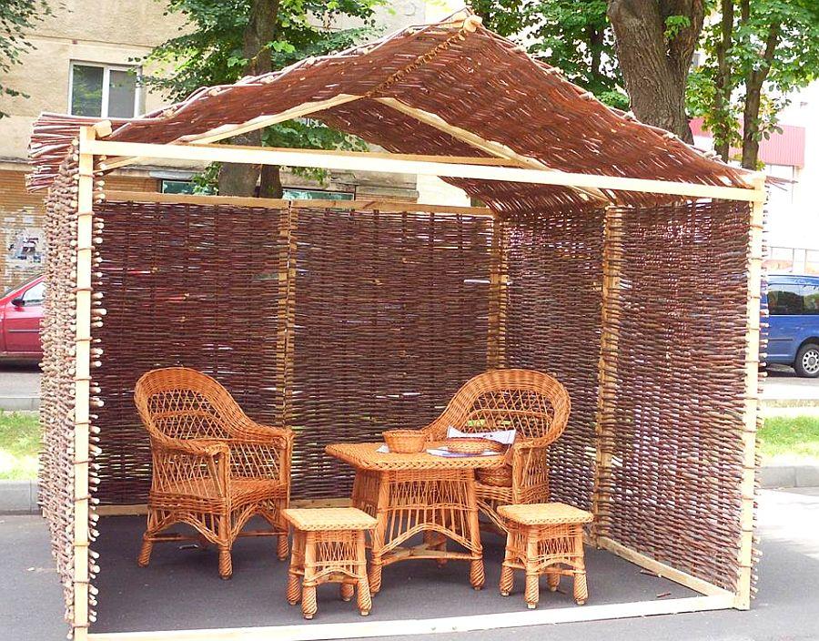 adelaparvu.com despre mobilier, chioscuri si cosuri din rachita, design familia Toderascu, satul Heci judetul Iasi (6)