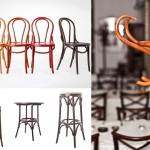adelaparvu.com despre mobilier din lemn curbat, scaune Thonet, design Phoenix Bucea, Cluj, Romania (55)