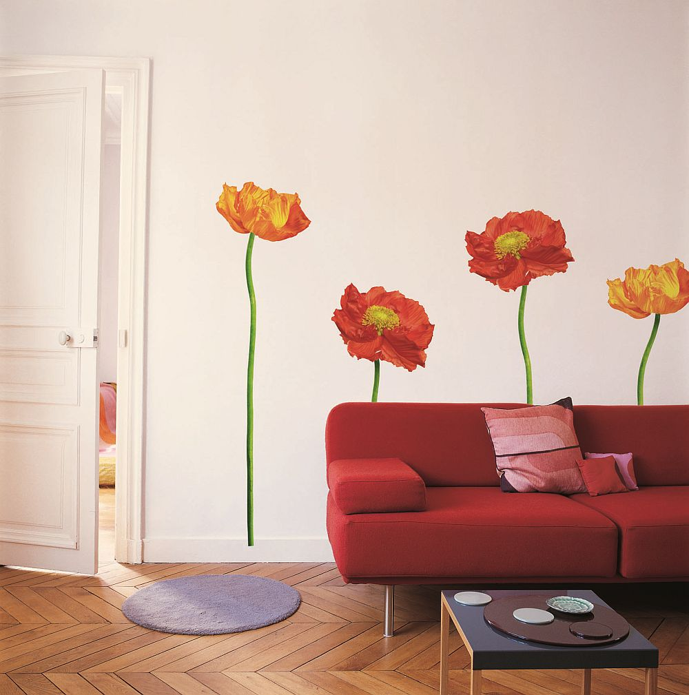 adelaparvu.com despre modele stickere deco-perete.ro, autocolante decorative, stickere de perete, usi, mobila, geam, faianta
