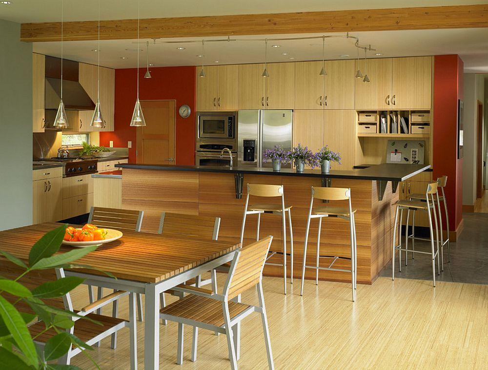adelaparvu.com despre parchet cu model marunt, parchet zebrano cu ce il asortezi Foto Goforth Gill Architects