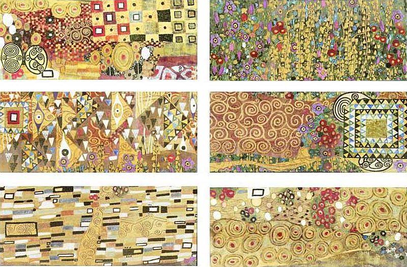 adelaparvu.com despre placi ceramice colectia Pasion Mural Ceramica Latina cu model Gustav Klimt (5)