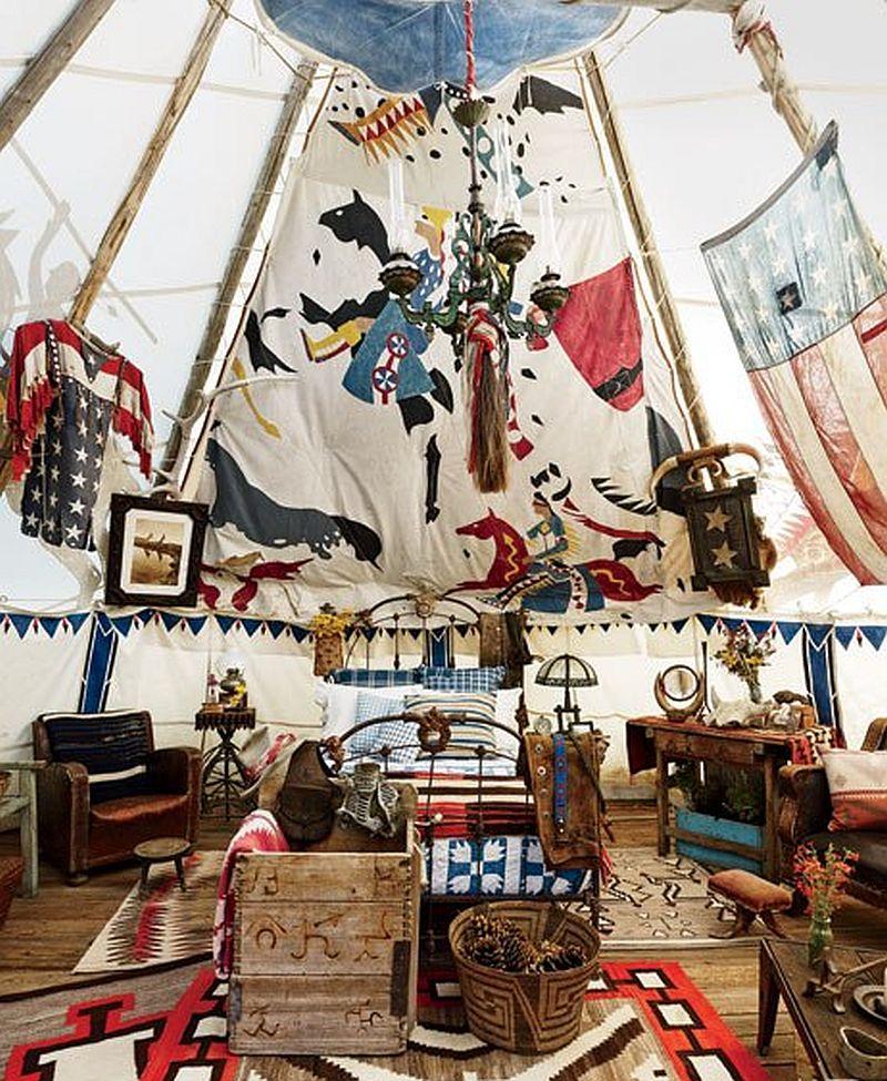 adelaparvu.com despre ranch american, stil western, cabana lui Ralph Lauren, Foto AD (10)
