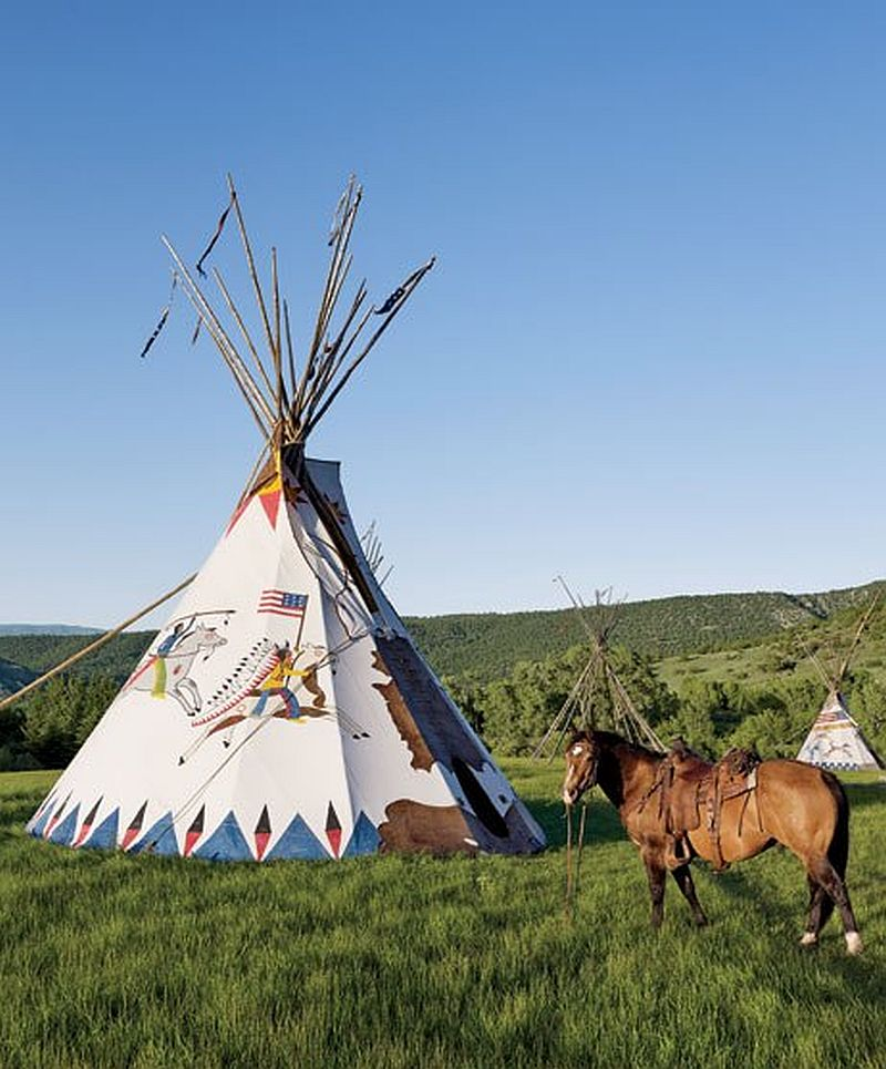 adelaparvu.com despre ranch american, stil western, cabana lui Ralph Lauren, Foto AD (11)