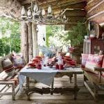 adelaparvu.com despre ranch american, stil western, cabana lui Ralph Lauren, Foto AD (2)
