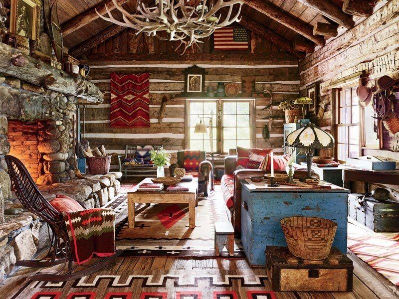 adelaparvu.com despre ranch american, stil western, cabana lui Ralph Lauren, Foto AD (3)