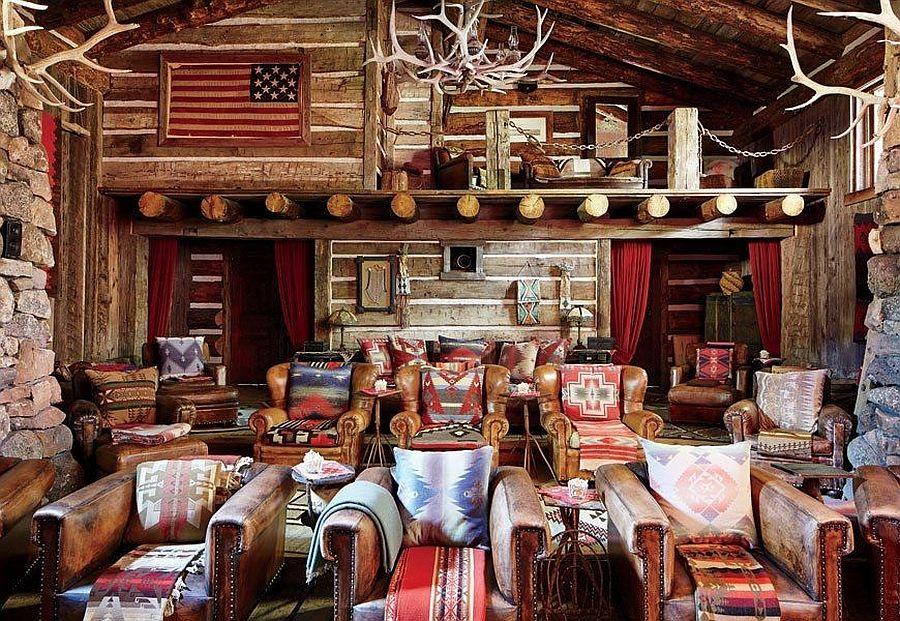 adelaparvu.com despre ranch american, stil western, cabana lui Ralph Lauren, Foto AD (6)