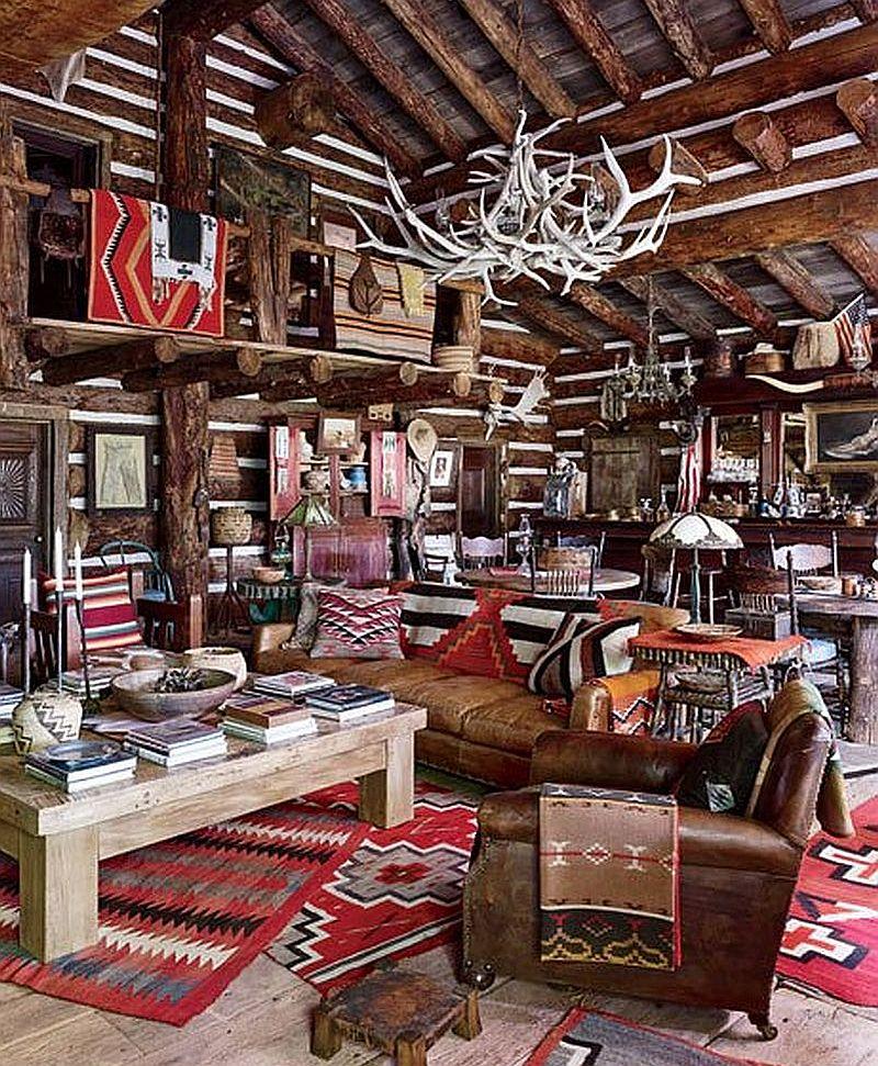 adelaparvu.com despre ranch american, stil western, cabana lui Ralph Lauren, Foto AD (7)