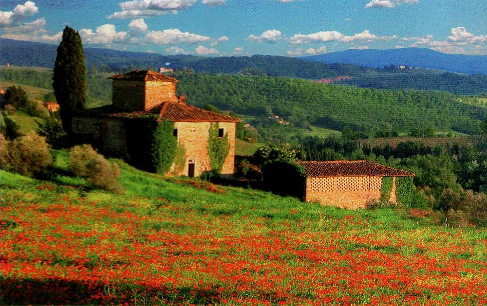 adelaparvu.com despre stilul Toscan, peisaje din Toscana (2)