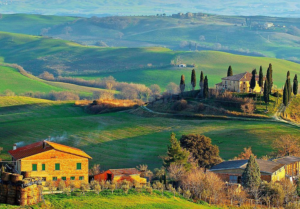adelaparvu.com despre stilul Toscan, peisaje din Toscana (3)