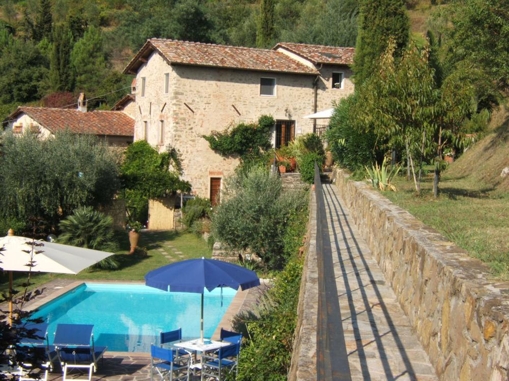 adelaparvu.com despre stilul toscan, casa in stil toscan, Villa Al Castello, Lucca, Italia (14)