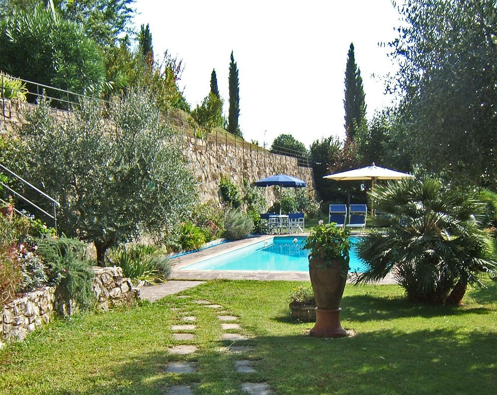 adelaparvu.com despre stilul toscan, casa in stil toscan, Villa Al Castello, Lucca, Italia (19)