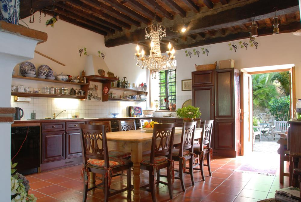 adelaparvu.com despre stilul toscan, casa in stil toscan, Villa Al Castello, Lucca, Italia (4)