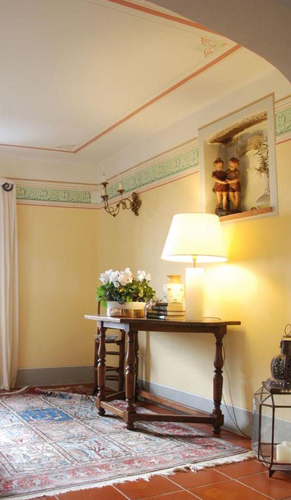 adelaparvu.com despre stilul toscan, casa in stil toscan, Villa Al Castello, Lucca, Italia (6)