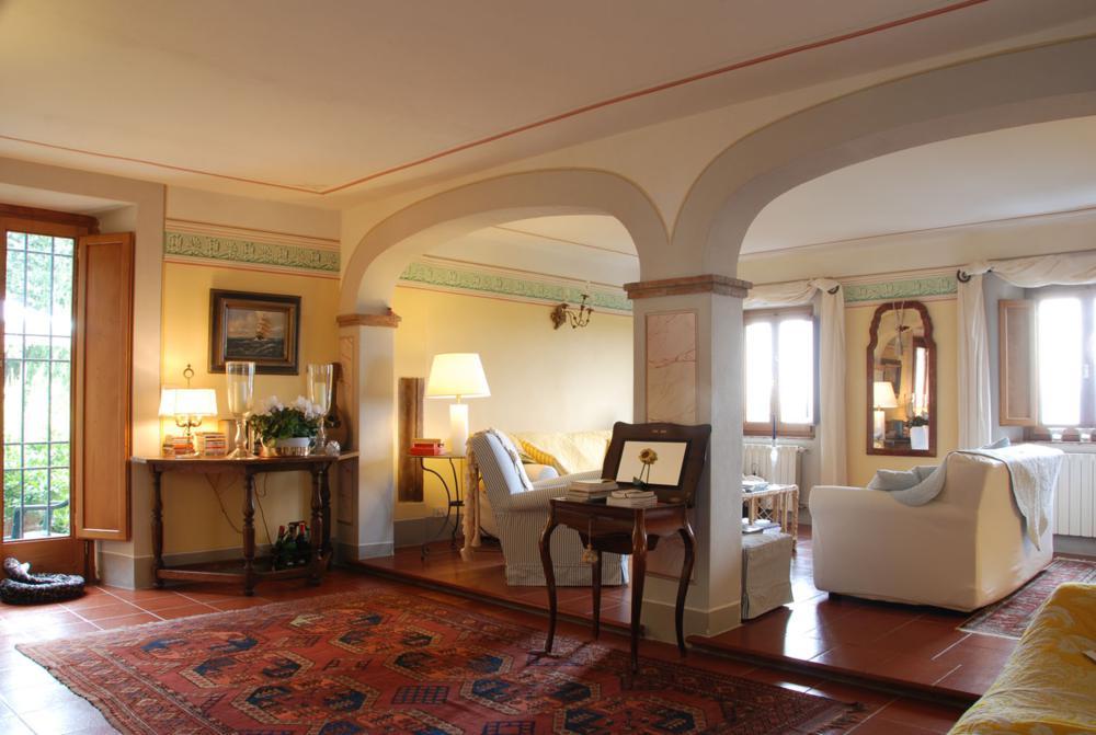 adelaparvu.com despre stilul toscan, casa in stil toscan, Villa Al Castello, Lucca, Italia (8)