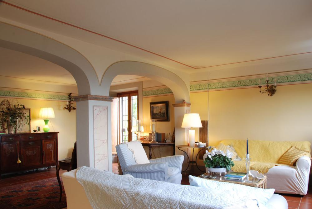 adelaparvu.com despre stilul toscan, casa in stil toscan, Villa Al Castello, Lucca, Italia (9)