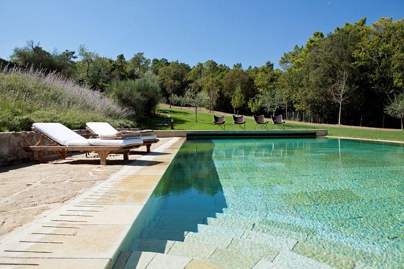 adelaparvu.com despre stilul toscan, casa in stil toscan, Villa Alba, Montalcino
