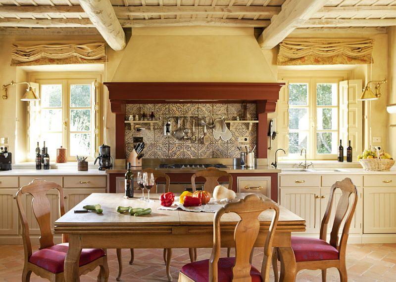 adelaparvu.com despre stilul toscan, casa in stil toscan, Villa Alba, Montalcino (6)