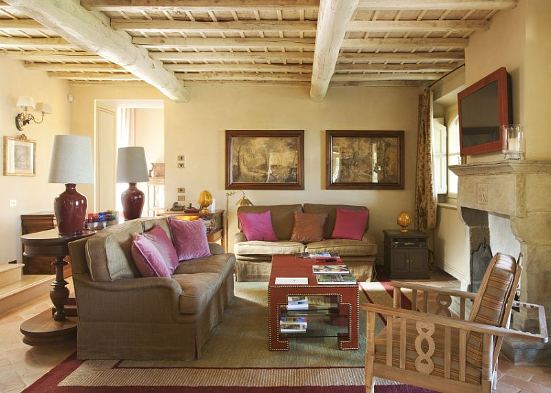 adelaparvu.com despre stilul toscan, casa in stil toscan, Villa Alba, Montalcino (7)