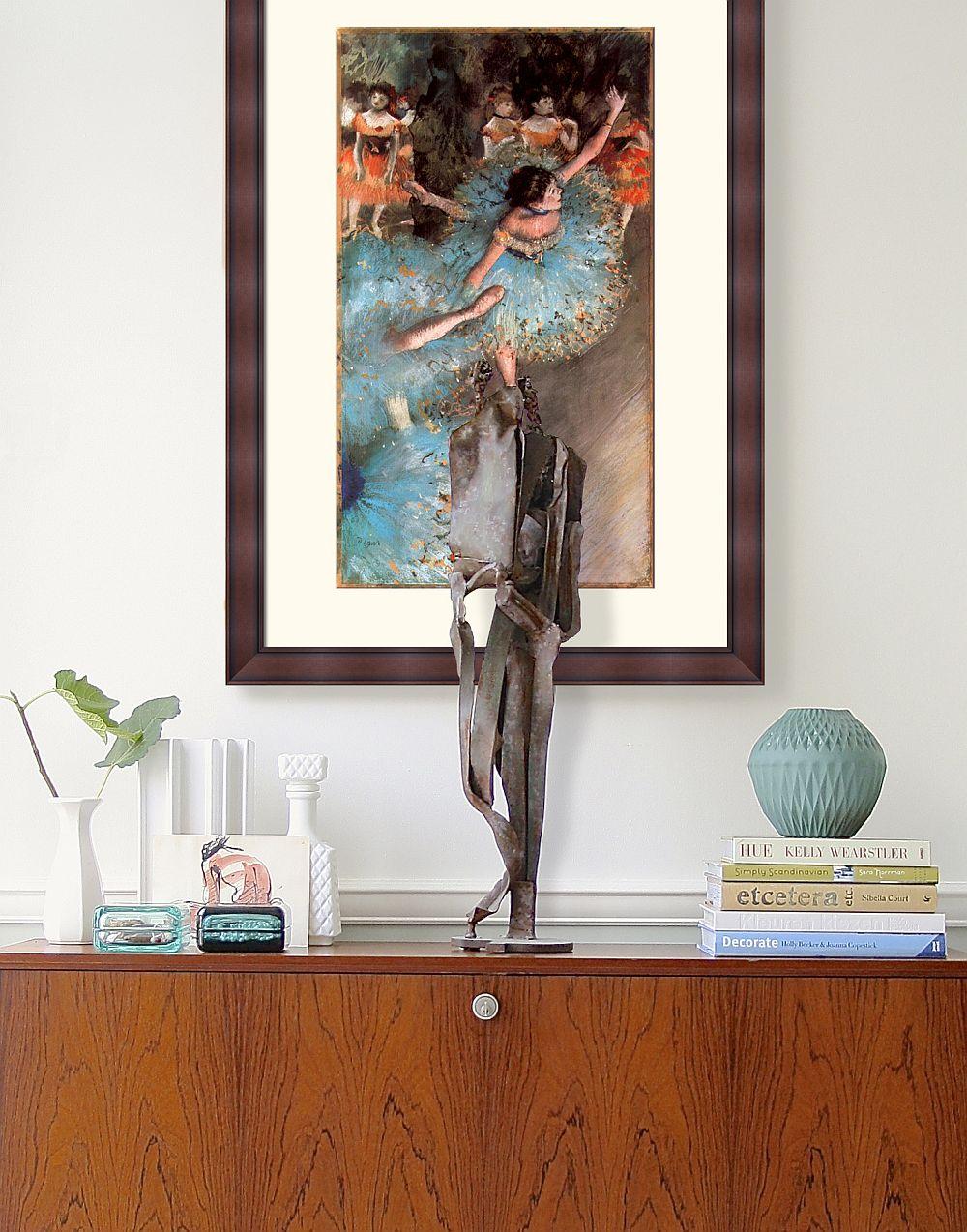 Tablou decorativ ce reproduce o lucrare semnat de pictorul Edgar Degas